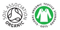 Soil Association - Organic Logo & GOTS logo